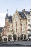 Typical houses in Brussels Royalty Free Stock Photo