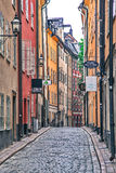 Typical houses in centre of Stockholm, Sweden Stock Image