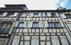 Typical houses in Colmar, France Stock Photos