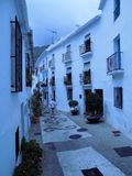 Typical  Houses  of Frigiliana Royalty Free Stock Image