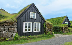Typical houses Stock Images