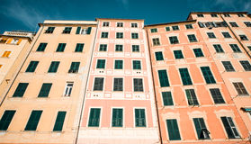 Typical houses in Italian village Royalty Free Stock Photo