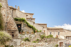 Typical houses in Italy Stock Photo