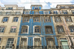 Typical houses in Lisbon Royalty Free Stock Photography