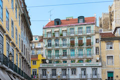 Typical houses in Lisbon Stock Photography