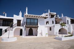 Typical houses at Menorca Royalty Free Stock Photography