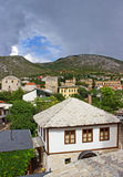 Typical Houses in Mostar Royalty Free Stock Photography