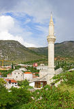 Typical Houses in Mostar Stock Photography