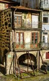 Typical houses in Oporto royalty free stock photography
