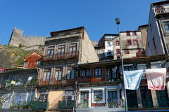 Typical houses of Porto Royalty Free Stock Image