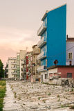 Typical houses in Sottomarina Italy. Royalty Free Stock Photos