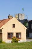 Swedish housing Visby Stock Photo
