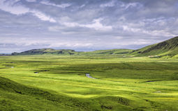 Typical Icelandic mountain landscapes Royalty Free Stock Photo