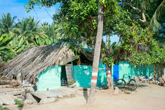 Typical indian village house  in hampi Royalty Free Stock Image