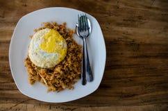 Typical Indonesian dish: Nasi Goreng. Typical Indonesian dish - Nasi Goreng stock photography