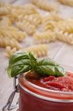 Typical ingredients for mediterranean diet Stock Photos