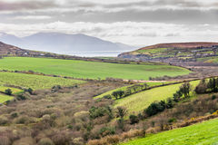 Typical Irish scenery Stock Photography