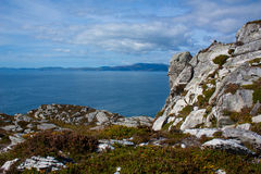 A typical Irish view. At the atlantic ocean Royalty Free Stock Photography