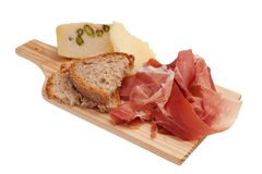 Italian tagliere - appetizer stock photography