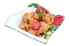 Italian food: Pappa al pomodoro stock photography