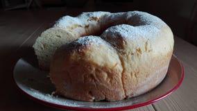 Homemade pan brioche Royalty Free Stock Photos