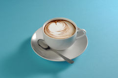 Typical Italian Cappuccino Royalty Free Stock Photography