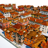 Typical Italian city, 3d illustration Stock Photo