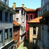 Typical Italian city, 3d illustration Stock Photos
