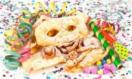 Typical Italian dessert for carnival, Stock Image