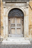 Typical italian door Royalty Free Stock Images