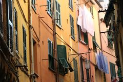 Typical Italian Houses stock image