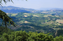 Typical Italian landscape Stock Images