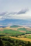 Typical Italian Landscape in Tuscany Royalty Free Stock Image