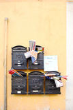 Typical Italian mailbox Stock Photography