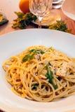 Typical Italian pasta dish Royalty Free Stock Photos