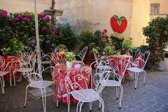 A typical Italian restaurant in the small town of Nemi, Lazio pr Stock Photography