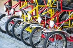 Typical Italian Rickshaws Royalty Free Stock Image