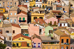 Typical italian southern city Royalty Free Stock Photos