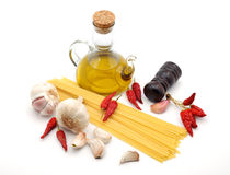 Typical italian spaghetti Stock Photo