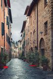 A typical Italian street Royalty Free Stock Photography
