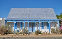 Typical Karoo Architecture stock photography