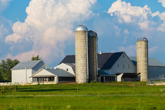 Typical Lancaster County Amish Farm Royalty Free Stock Images