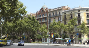 Typical landscape of Barcelona Stock Photos