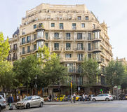 Typical landscape of Barcelona Royalty Free Stock Photography