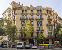 Typical landscape of Barcelona Royalty Free Stock Photo