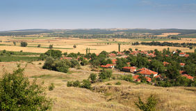 Typical landscape from Bulgaria Stock Photography