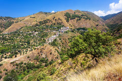 Typical landscape of Calabria Stock Image