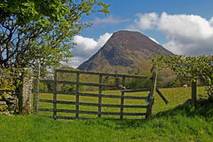 Typical landscape of fells in the  Lake district Stock Photo