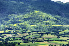 Typical landscape Marche Royalty Free Stock Photo