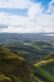 Typical landscape on Sao Miguel island, Azores Stock Photos